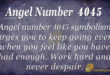 4045 angel number