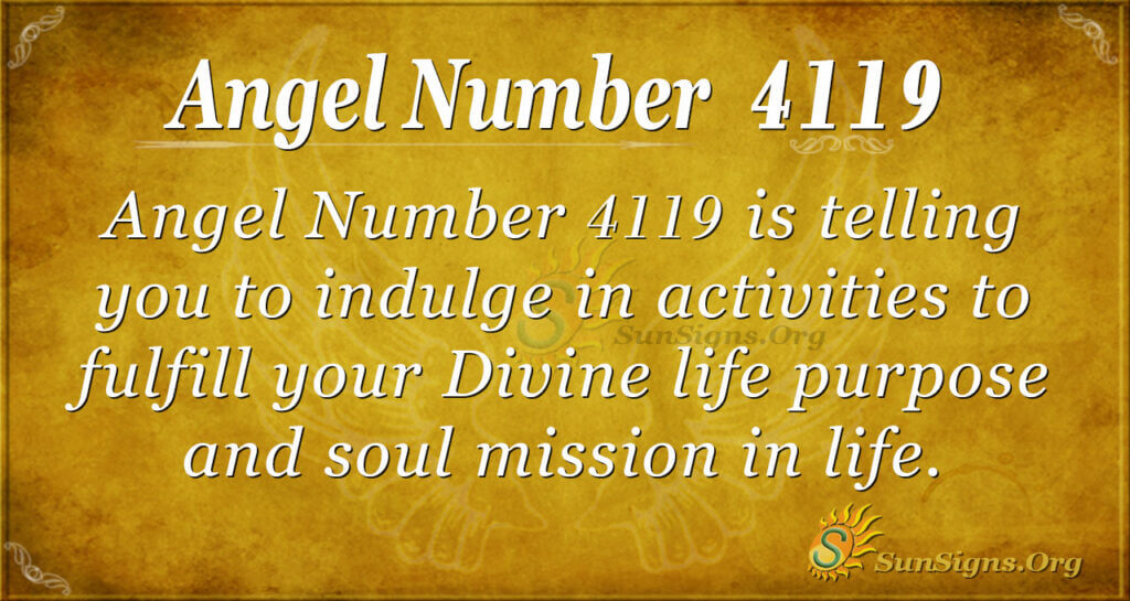 4119 angel number