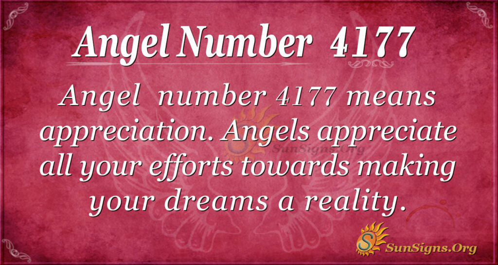 4177 angel number