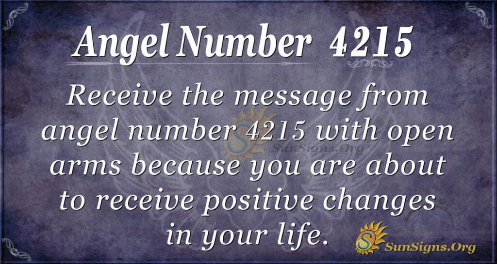 4215 angel number