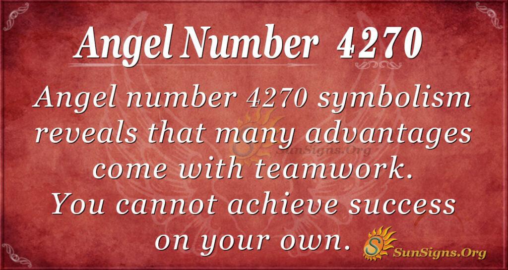 4270 angel number