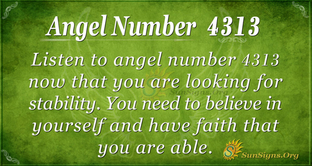 4313 angel number