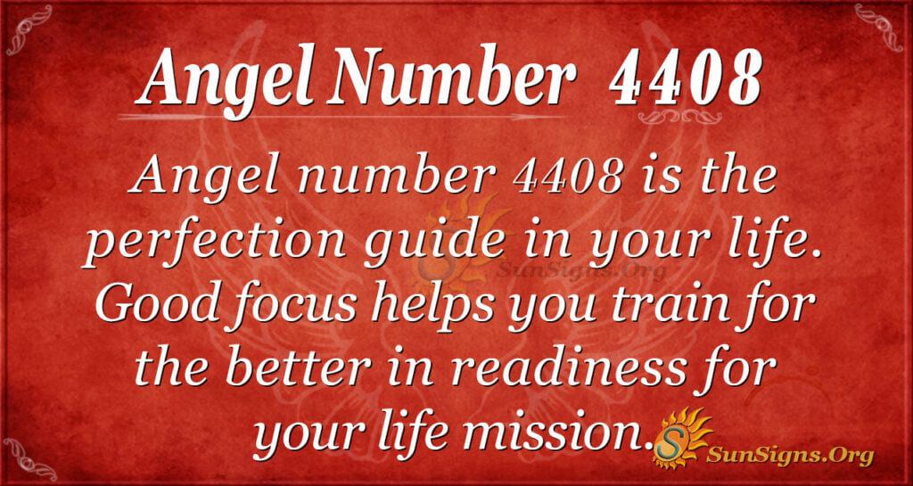 Angel number 4408