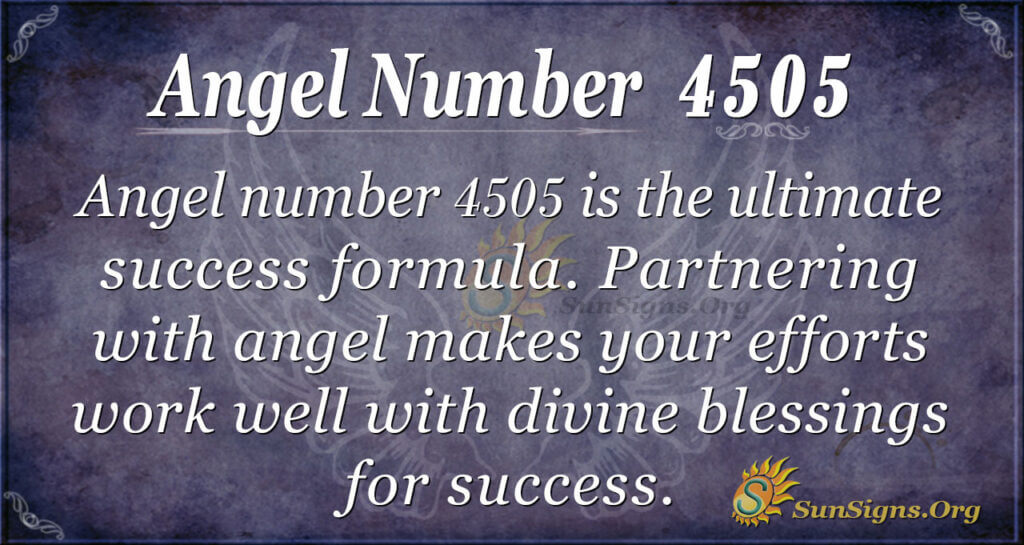 4505 angel number