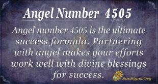 4505 angel number
