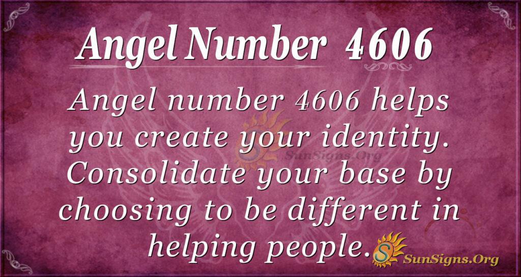 4606 angel number
