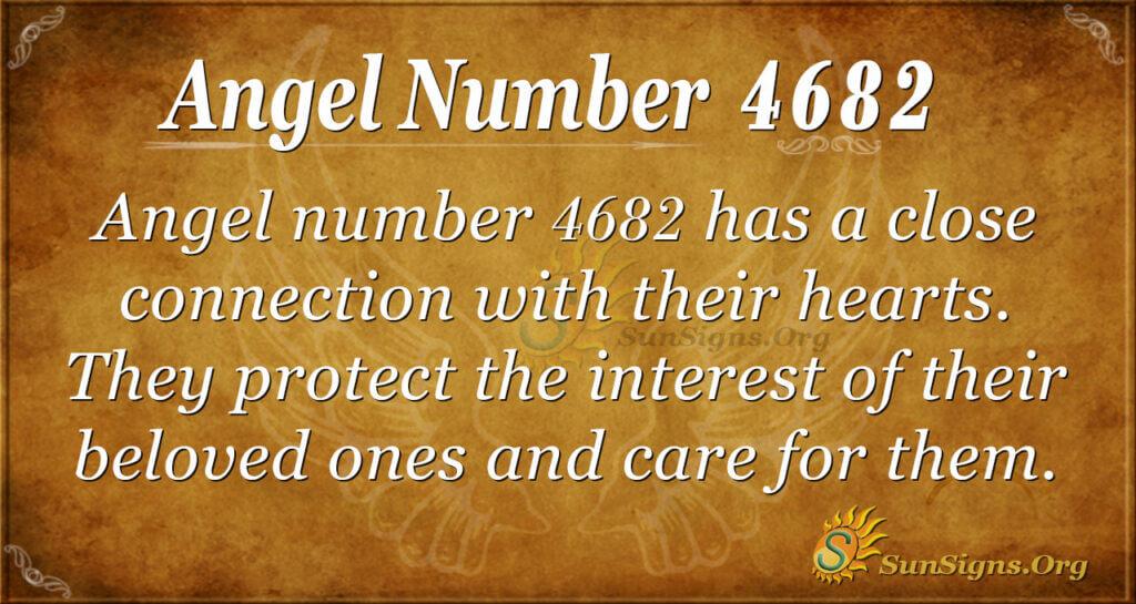 Angel number 4682