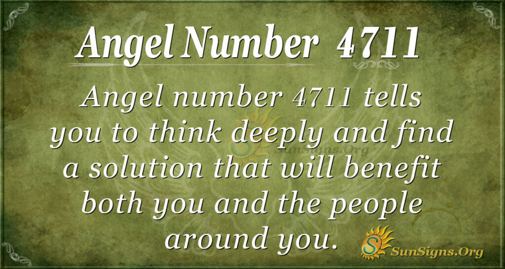Angel Number 4711