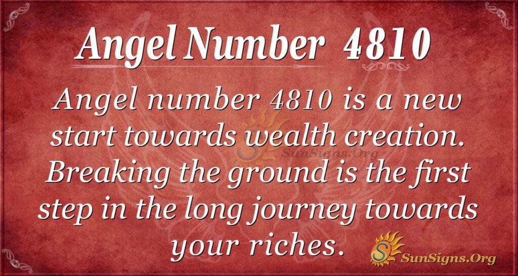 4810 angel number