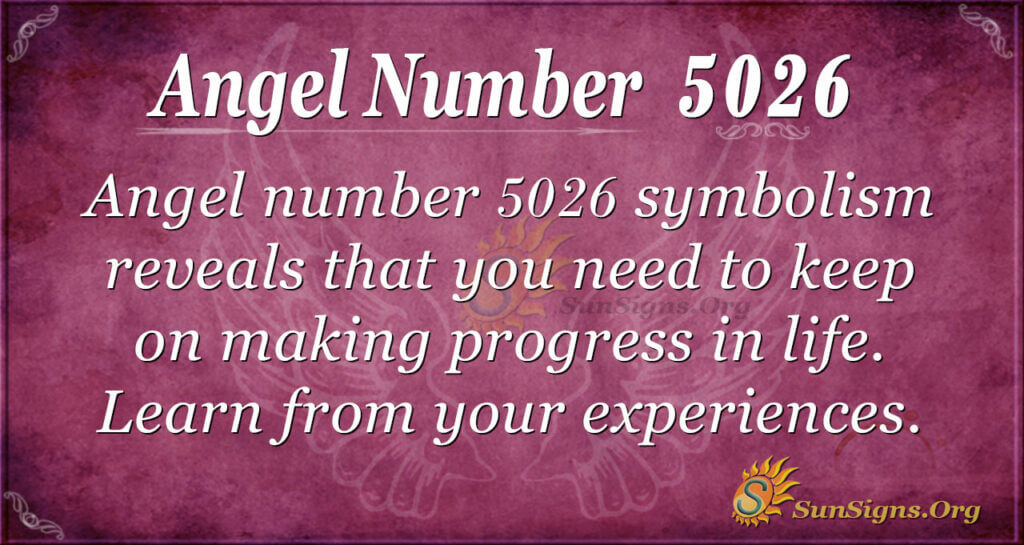 Angel number 5026
