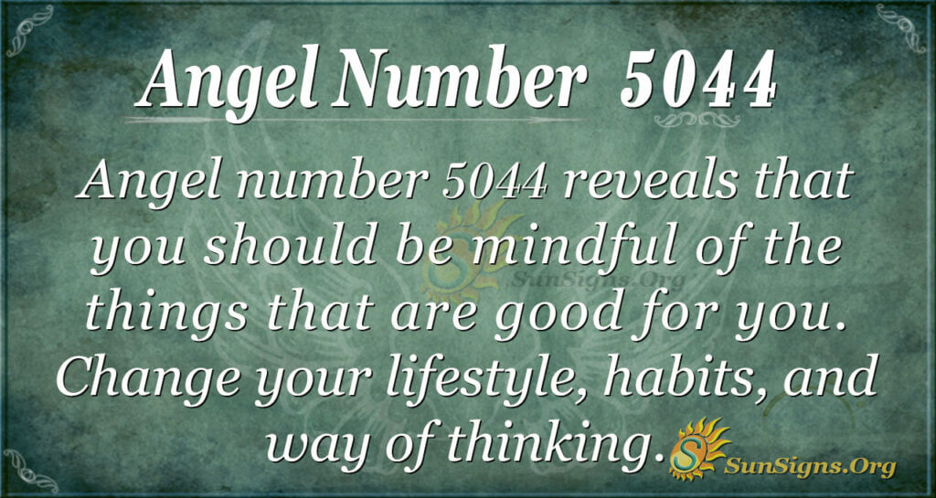 Angel number 5044