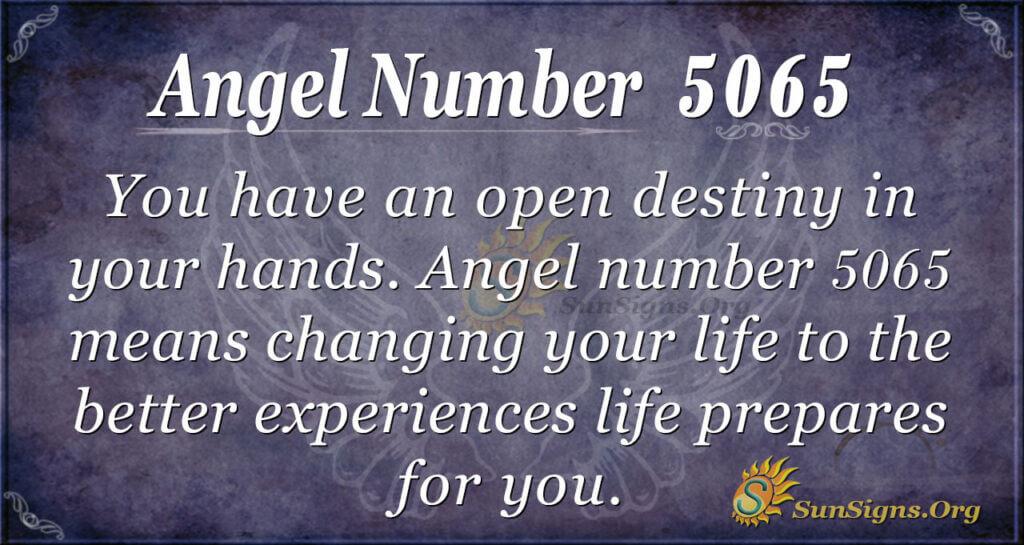 5065 angel number