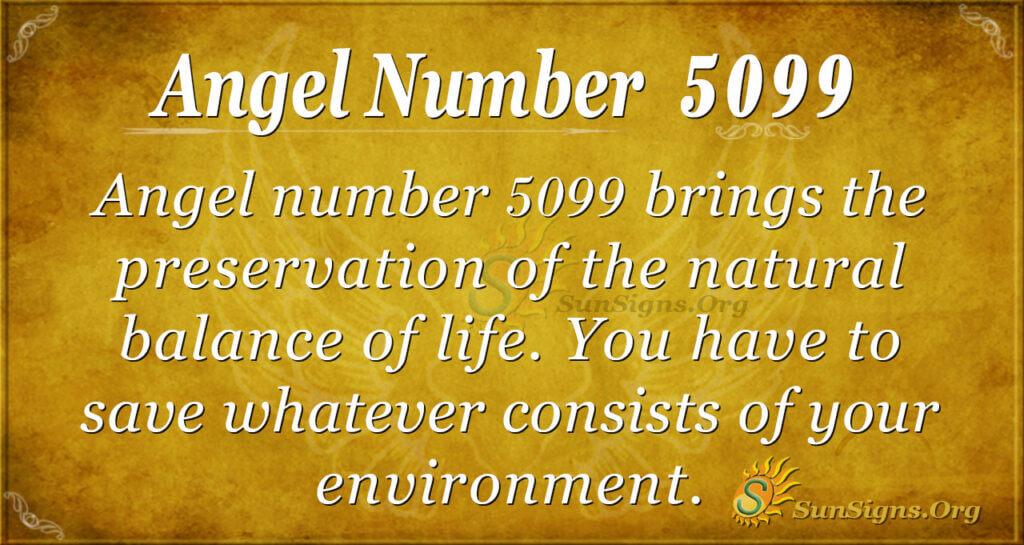 Angel number 5099