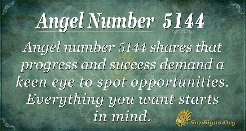 Angel number 5144