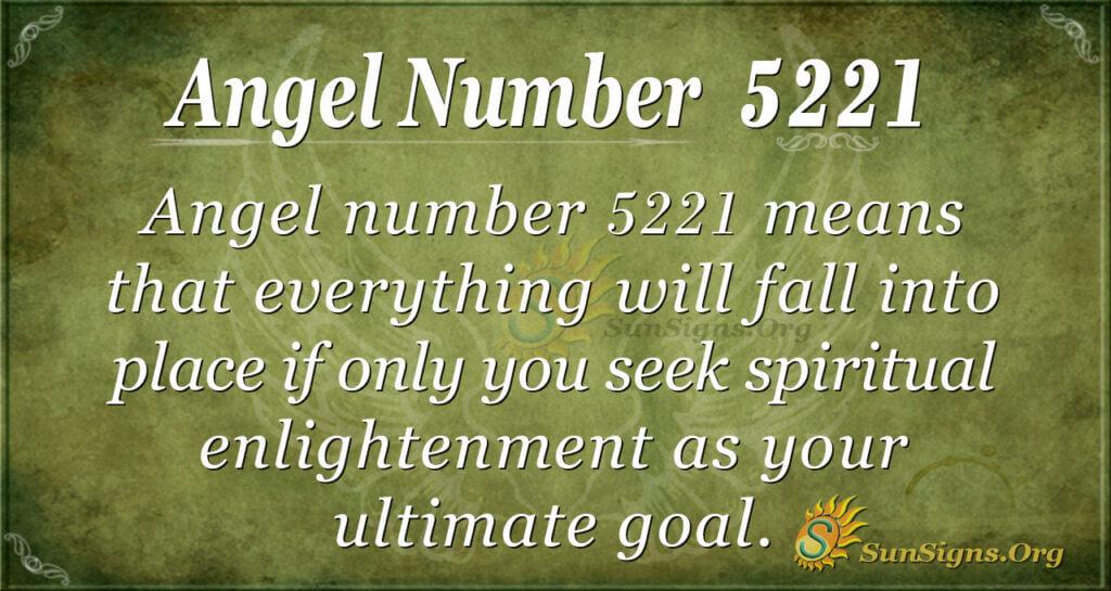 5221 angel number