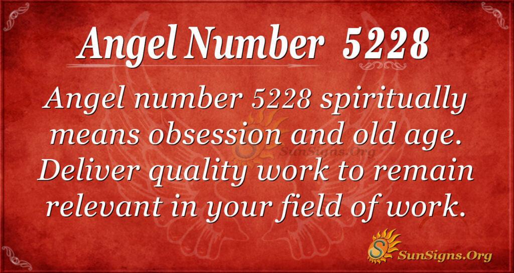 5228 angel number