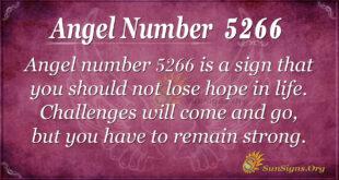 Angel number 5266