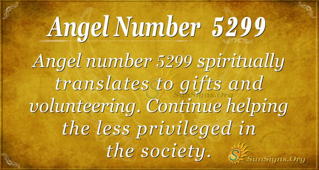 5299 angel number