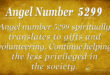 5299 angel number