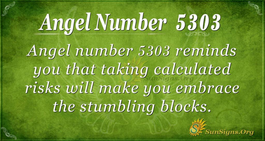 Angel number 5303