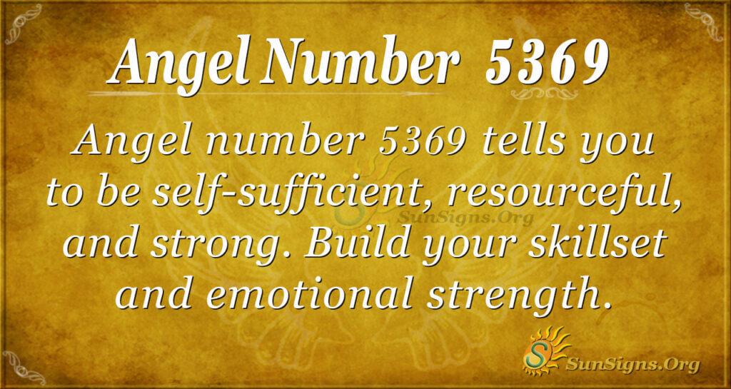 5369 angel number