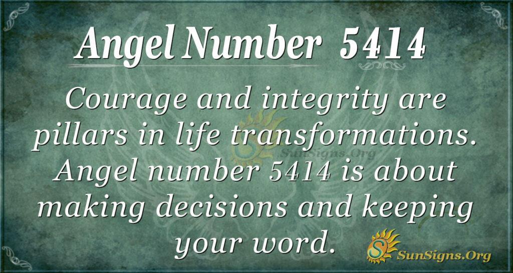 5414 angel number