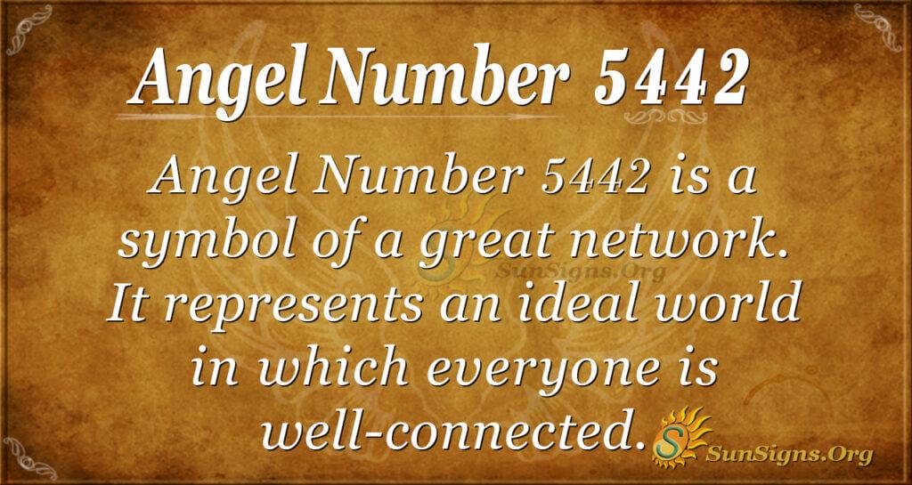 5442 angel number