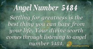 Angel number 5484