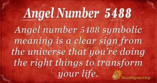 5488 angel number