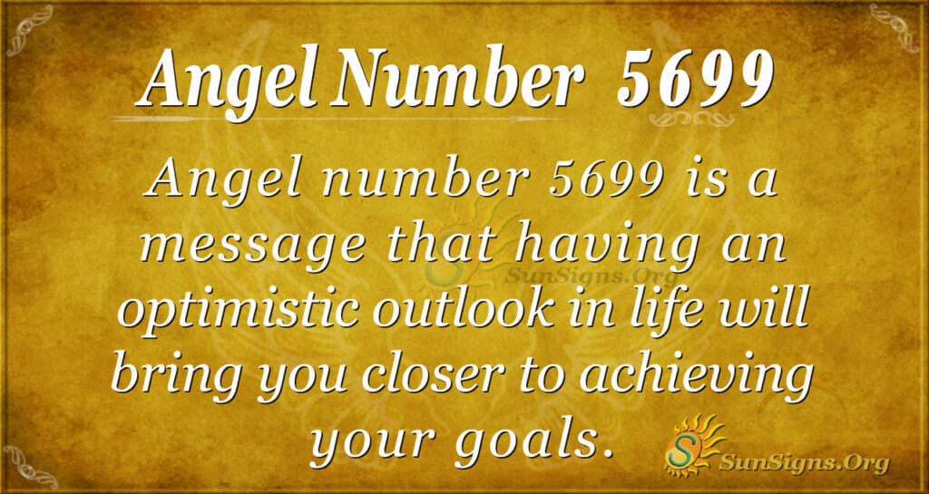 Angel number 5699