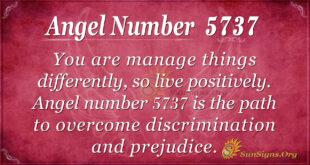 Angel number 5737
