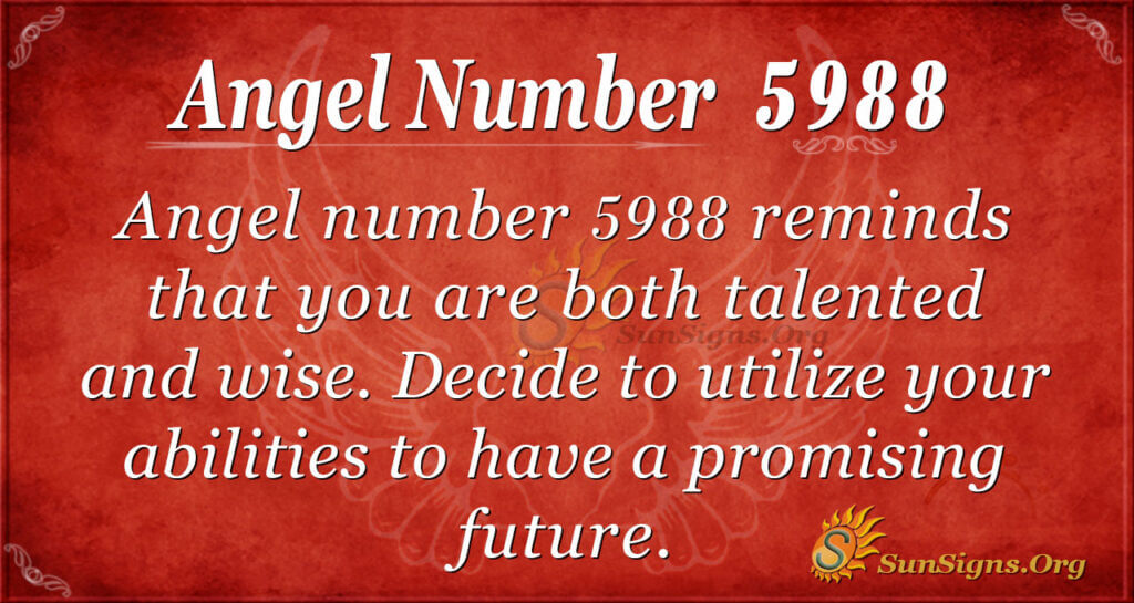 5988 angel number