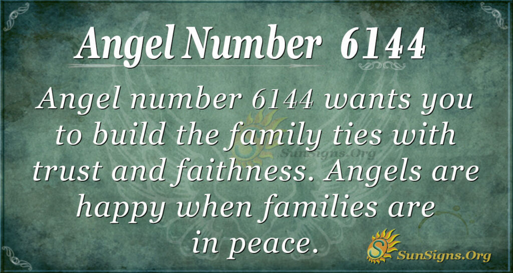 Angel number 6144
