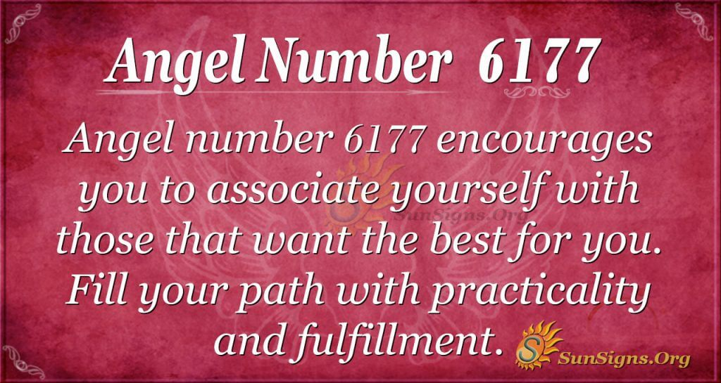 Angel number 6177