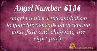 Angel number 6186