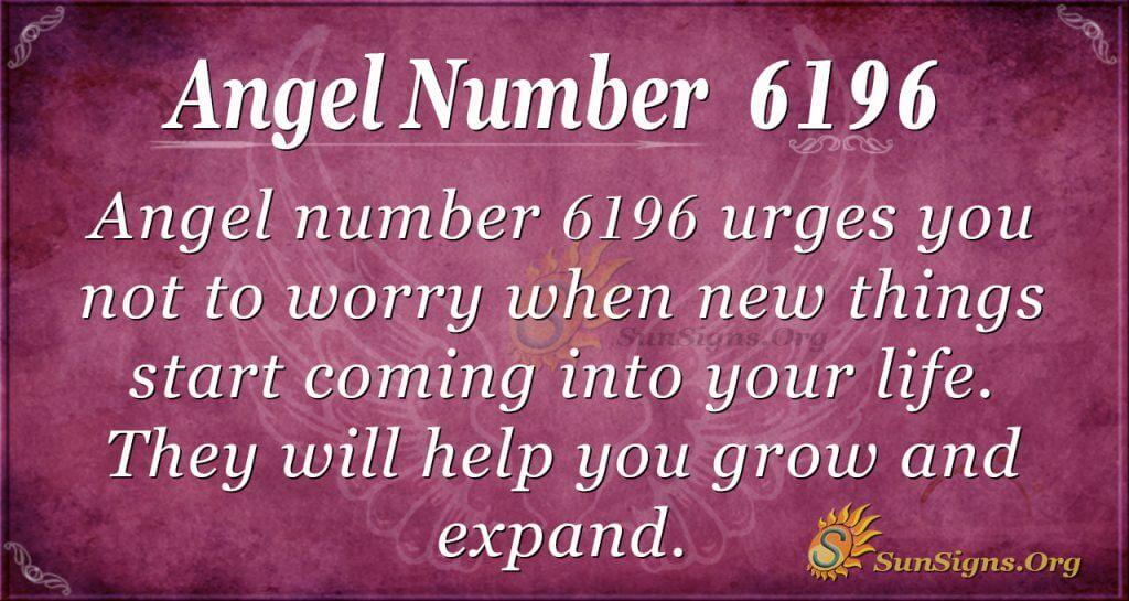 Angel number 6196