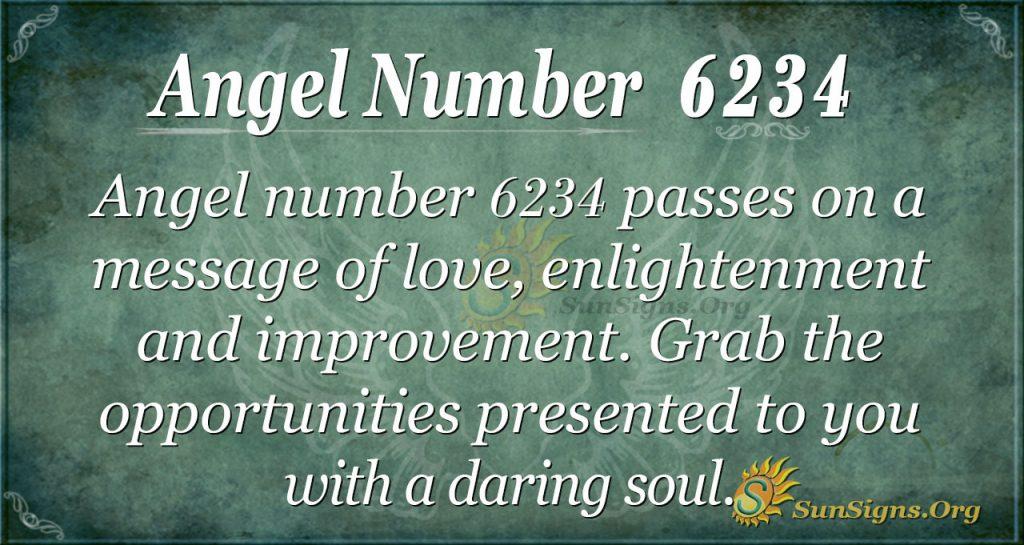 Angel number 6234