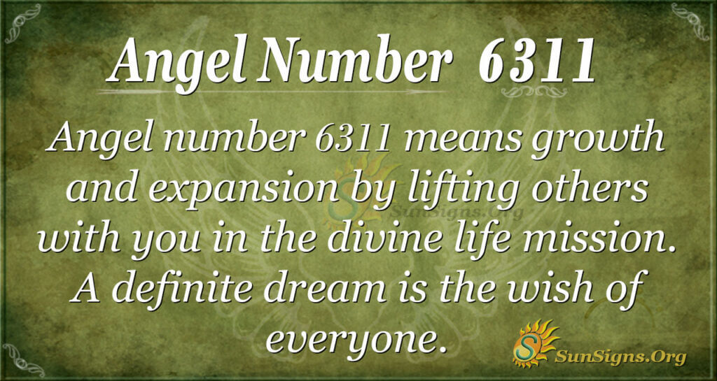 6311 angel number