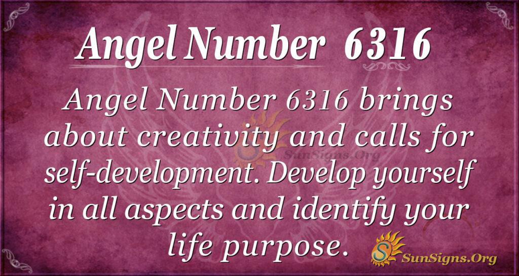 6316 angel number