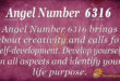 6316 angel number