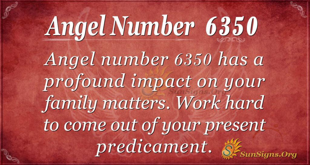 6350 angel number