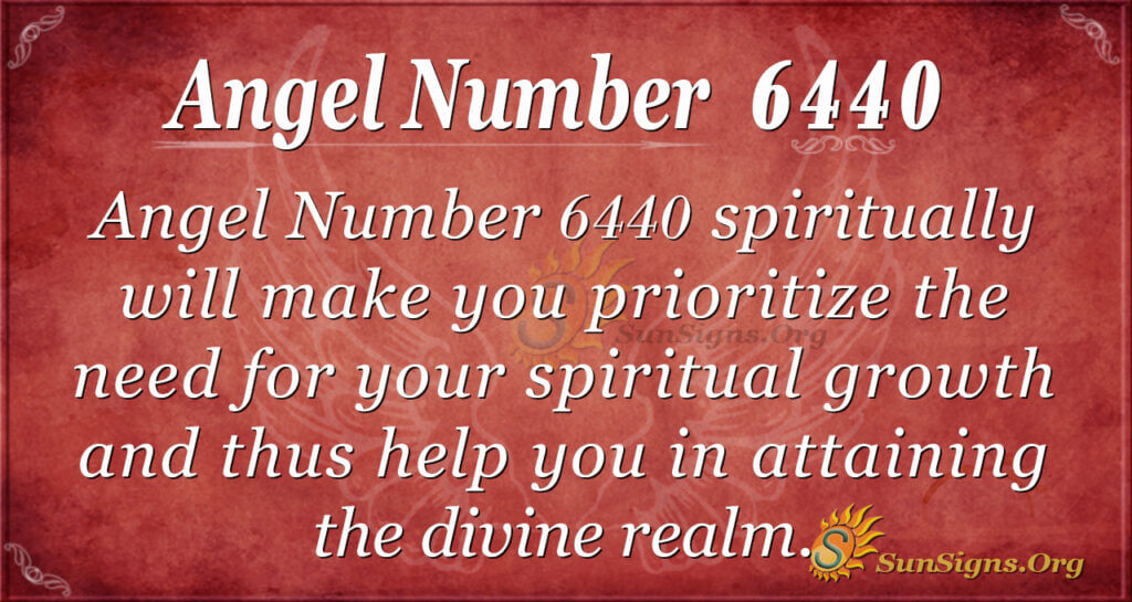 6440 angel number