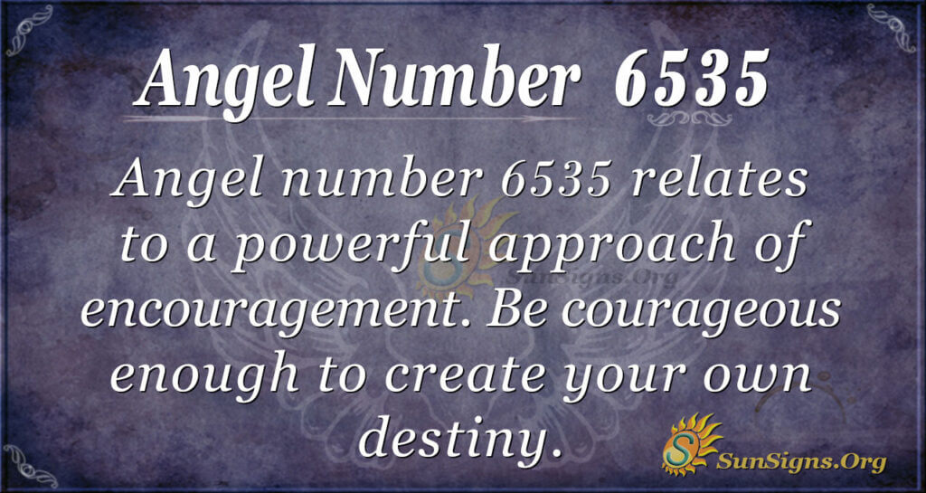 6535 angel number