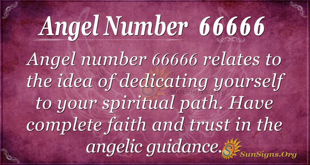 Angel number 66666