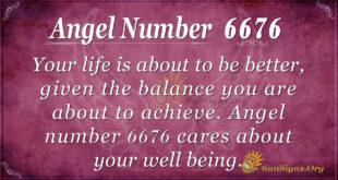 Angel number 6676