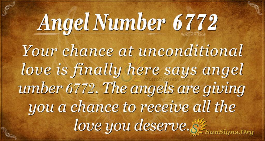Angel Number 6772