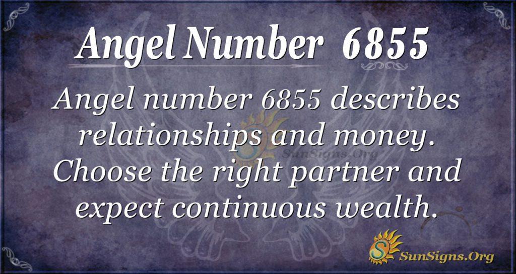 Angel number 6855