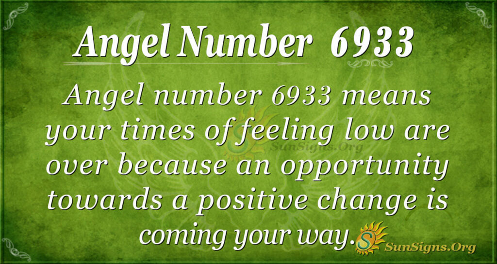 6933 angel number