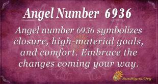 Angel number 6936