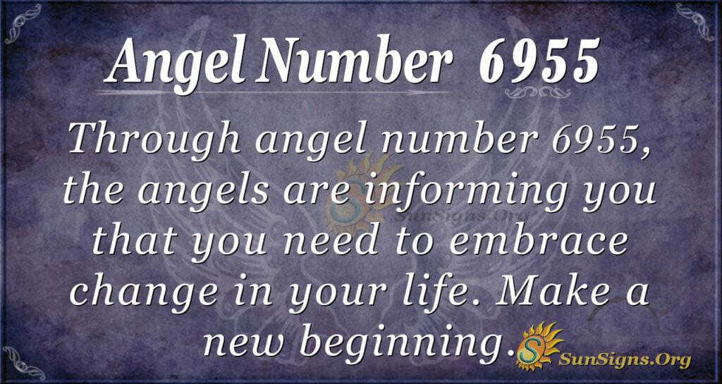 Angel number 6955